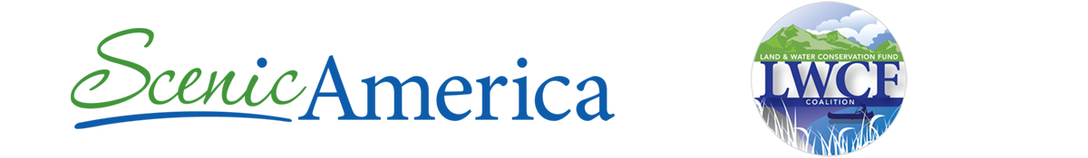 Scenic America and LWCF logos